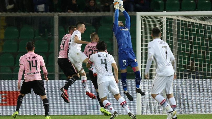 Serie B Palermo-Foggia 1-2: Duhamel e Kragl ribaltano il risultato