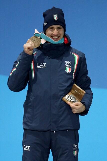 «Sono emozioni fortissime, soprattutto perché questa era una gara individuale, mentre a Sochi era una staffetta» le parole dell'atleta dopo la conquista della medaglia nello sprintdi biathlon