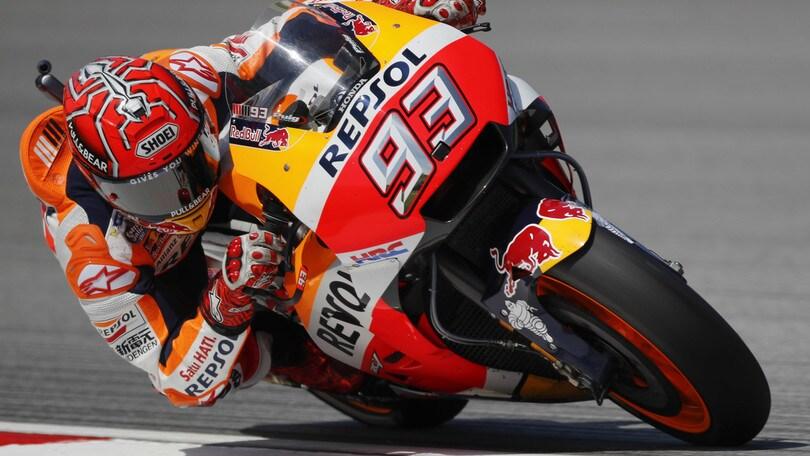 MotoGp Honda, Marquez: «La pista di Buriram è nuova per tutti»