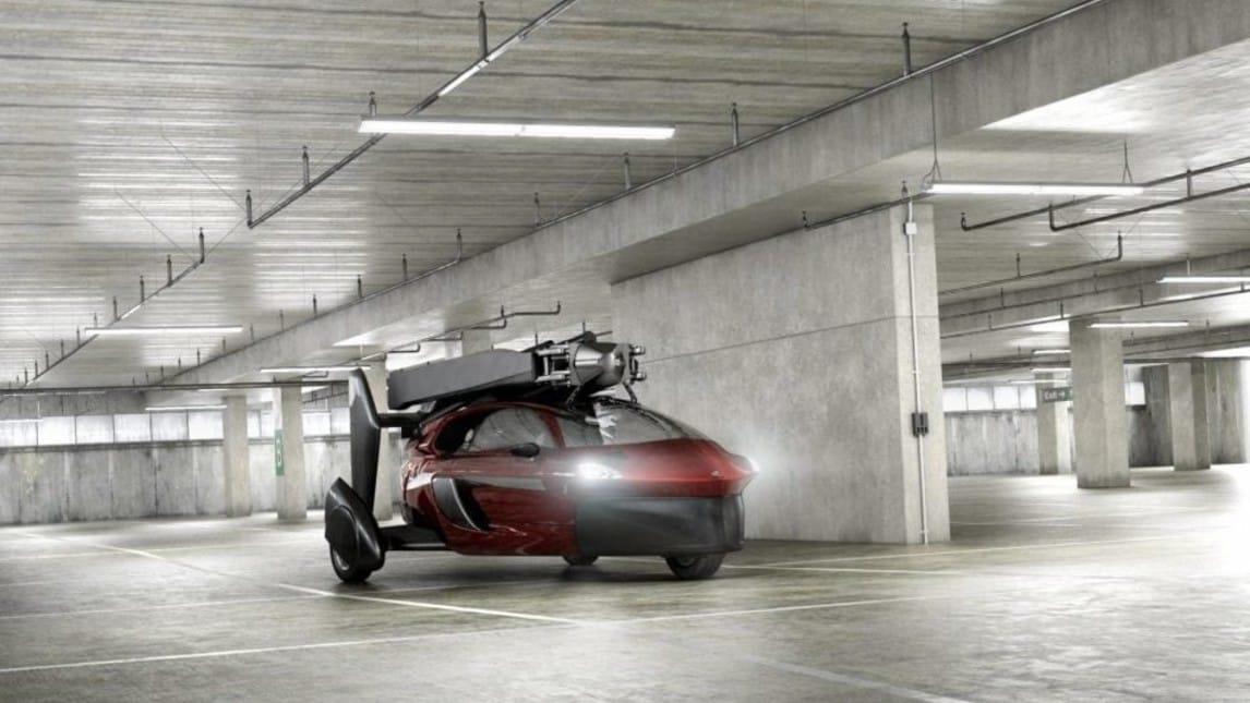 Arriva dall'Olanda il nuovo progetto di auto volante, Pal-V, che debutta al Salone di ginevra 2018. Grazie a un motore da 100 cv può raggiungere una velocità massima di 160 km/h su strada e di 180 orari in volo.