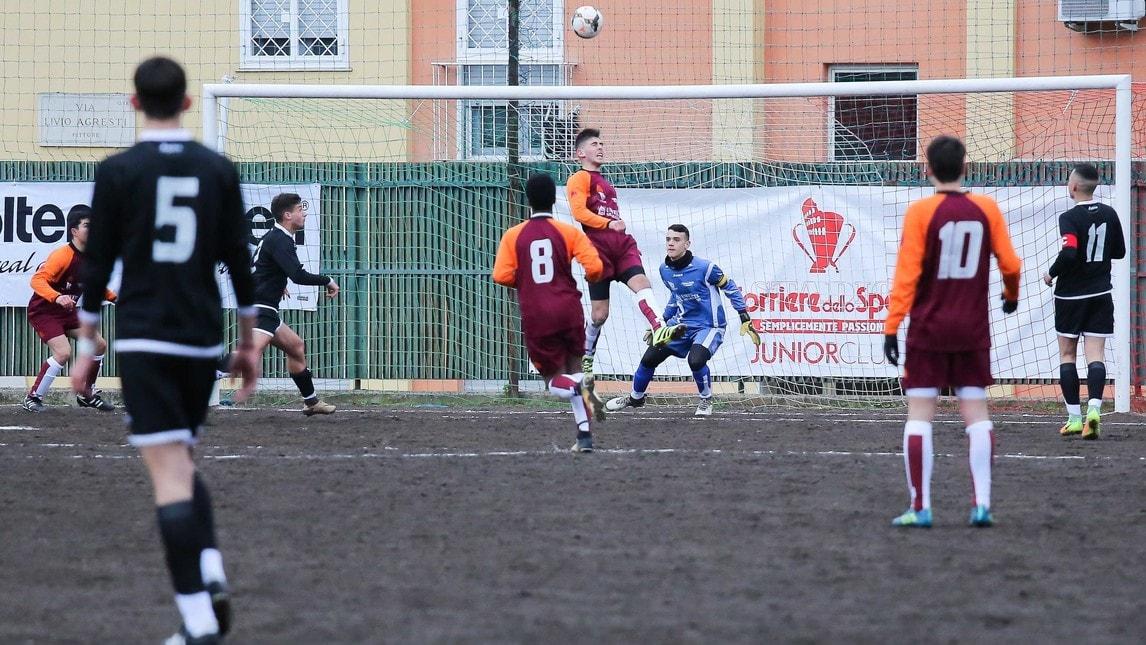 Esordio con vittoria per i ragazzi di Lattanzi trascinati dai gol di Minghella. Ecco tutte le foto più belle della mattinata