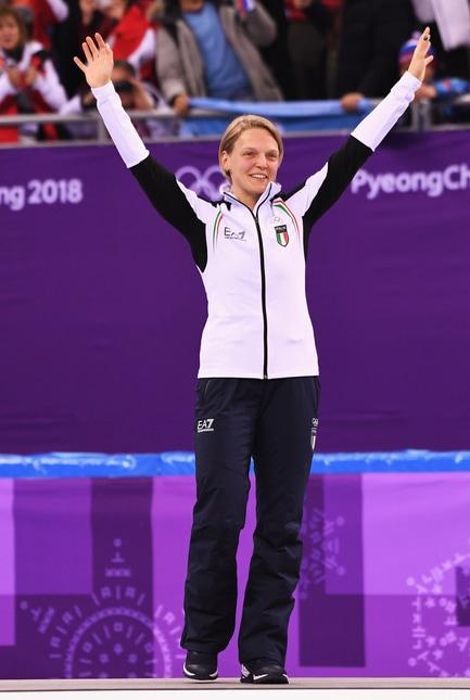 «È stato un lungo viaggio, più bello di come lo avevo immaginato. È un oro che inseguivo da anni, una sensazione stupenda tagliare il traguardo davanti alla coreana in casa sua»: sono le prime parole dell'azzurra dopo l'oro olimpico nello short track 500 metri