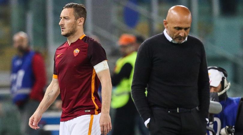 Roma, Totti non perdona Spalletti:«Mai un confronto e mai ci sarà»