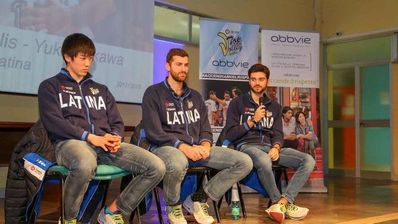 Volley: Superlega, Latina partecipa alla terza campagna etica nelle scuole