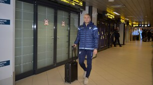 Europa League, Lazio arrivata a Bucarest