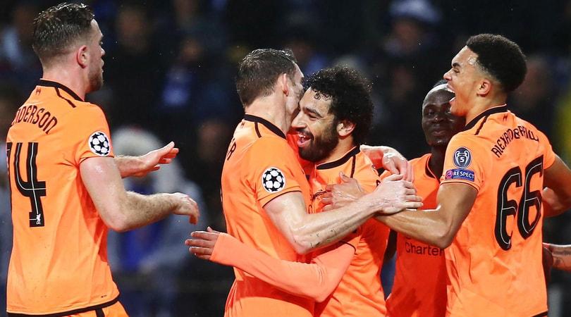 Champions League, Porto-Liverpool 0-5: Mané (3)-Salah-Firmino