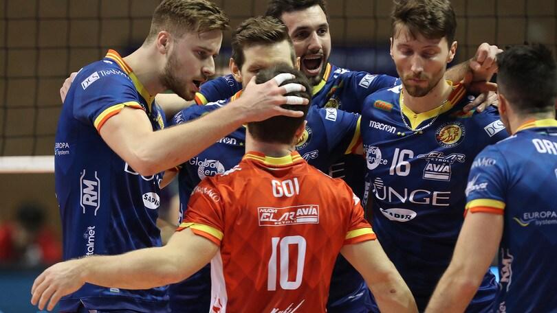 Volley: Challenge Cup, per la Bunge ok l'andata dei quarti