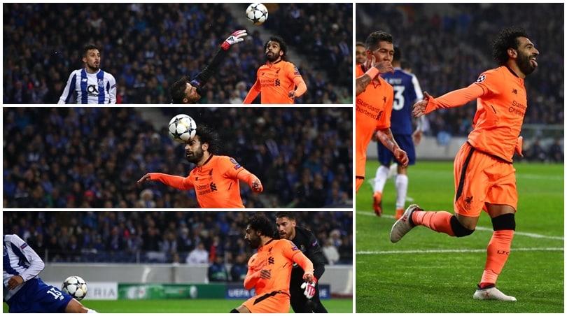 Porto-Liverpool, il gioco di prestigio di Salah