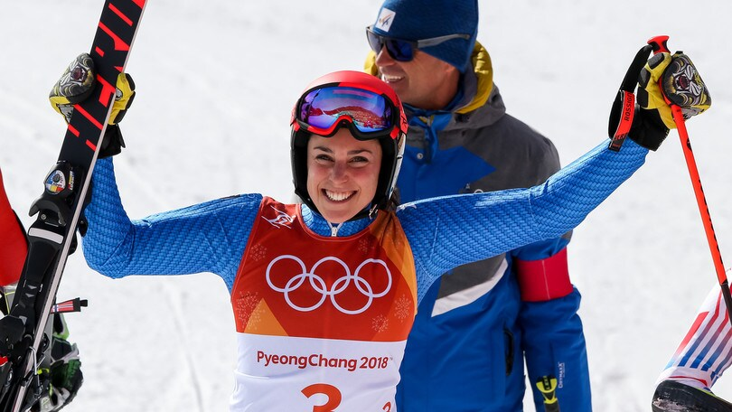 Brignone, gigante di bronzo. Paris sfiora il podio