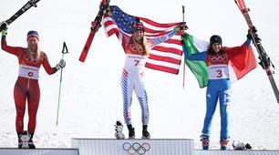 Olimpiadi, bronzo Brignone: dopo 16 anni torna una medaglia nello sci alpino