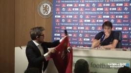 Chelsea, Conte rifiuta la maglia di Mourinho: «Te la puoi tenere»