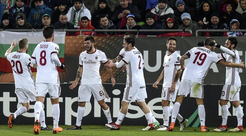 Europa League, Ludogorets-Milan 0-3: a segno Cutrone, Rodriguez e Borini