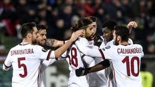Europa League, Ludogorets-Milan 0-3:Gattuso ipoteca gli ottavi di finale