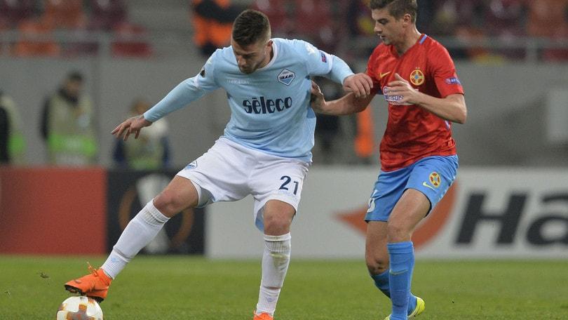 Europa League Steaua Bucarest-Lazio 1-0, il tabellino