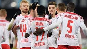 Europa League, Napoli ko: il Lipsia sbanca il San Paolo 3-1