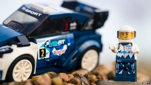 Lego Fiesta WRC, la macchinina da campioni