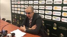 """Basket, De Raffaele: """"Deluso per la sconfitta"""""""