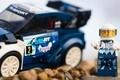 Lego celebra la vittoria Fiesta al Mondiale Rally