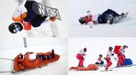 Olimpiadi invernali, incidente pauroso per Totsuka nell'halfpipe
