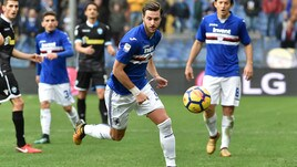 Serie A Sampdoria, Sala e Verre continuano a lavorare a parte