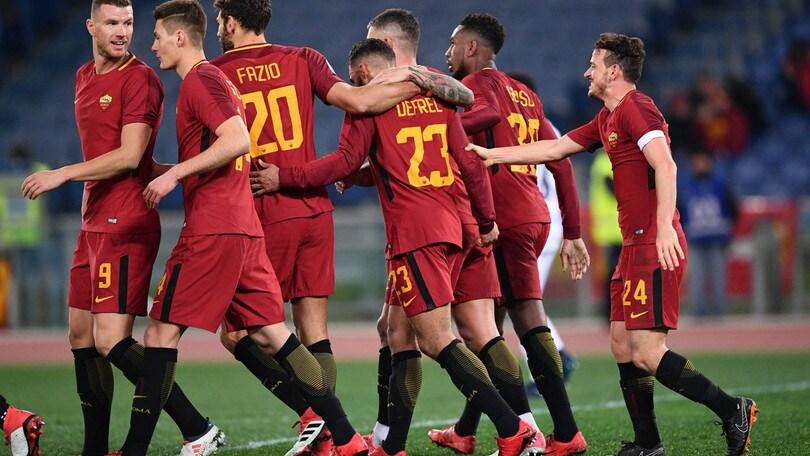 Serie A, Roma, il successo vale 1,84