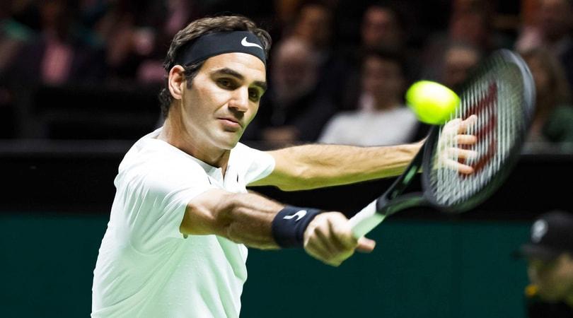 Federer, le foto più belle della sua impresa