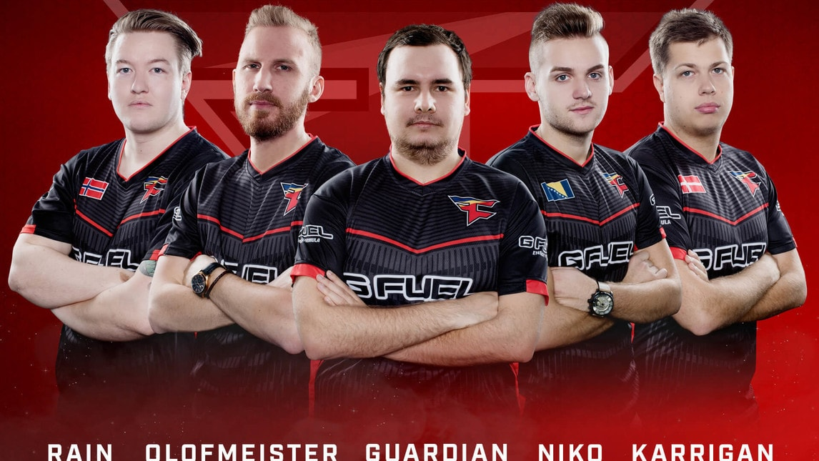 I FaZe Clan, finalisti al Boston Major dell'ELeague, con OlofMeister e Karrigan sono indubbiamente i favoriti.