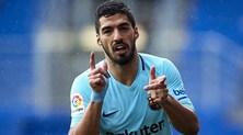 Il Barcellona torna a +10 sull'Atletico: 2-0 ad Eibar