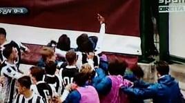 Esultanza con il dito medio: bufera in Torino-Juve Primavera