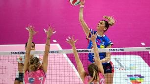 Volley: Coppa Italia Femminile, Novara che fatica ! batte Monza e va in finale