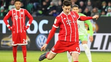 Bundesliga, Lewandowski a quota 20, il Bayern vince a Wolfsburg