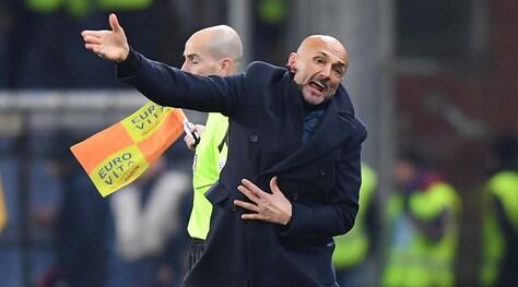 Inter, Spalletti: «Siamo fragili, servirebbe un episodio a favore»