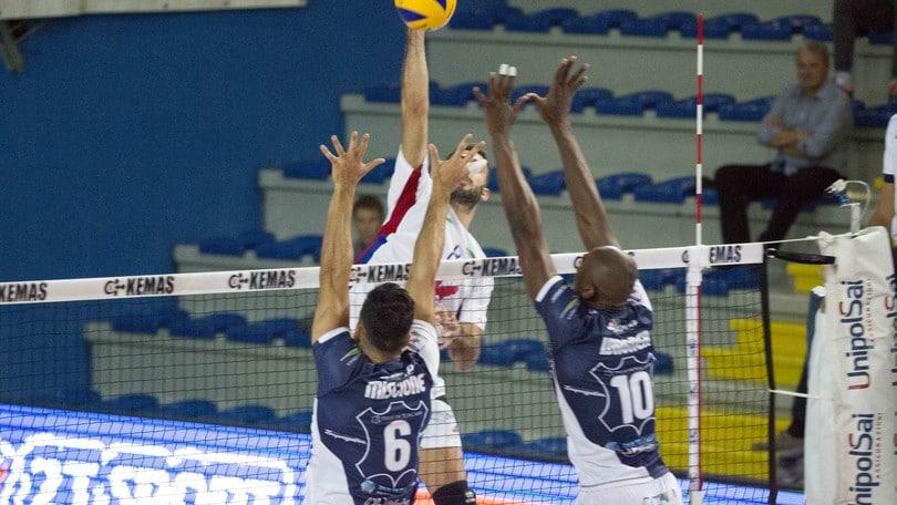 Volley: A2 Maschile, Pool A, Santa Croce vince a Bergamo ed è al secondo posto
