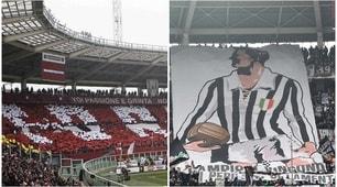 Torino-Juventus: lo spettacolo sugli spalti