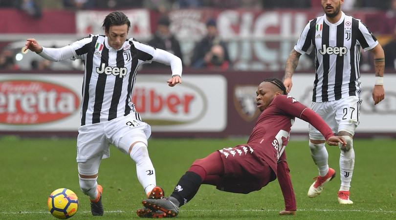 Juventus, problemi al ginocchio sinistro per Bernardeschi