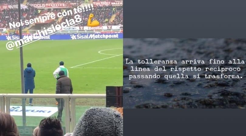 Juventus, messaggio polemico della moglie di Marchisio. È per Allegri?