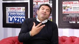 Max Giusti ospite al Corriere dello Sport: «Porto in scena i nostri problemi»
