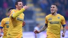 Serie B, Frosinone-Ascoli 2-0: Dionisi e Ciofani gol. Agganciato l'Empoli
