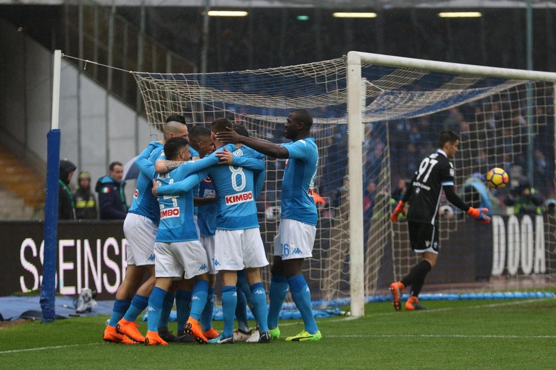 Serie A, Napoli-Spal 1-0: Allan mette la firma sul record