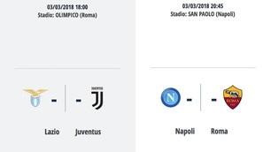 Corsa scudetto: il calendario di Napoli e Juve