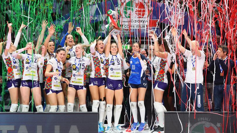 Volley: A2 Femminile, la Coppa Italia la alza la Battistelli