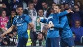 Raffica di reti a Siviglia: il Real Madrid batte il Betis 5-3