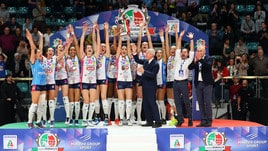 Volley: Super Novara si prende di forza la Coppa Italia