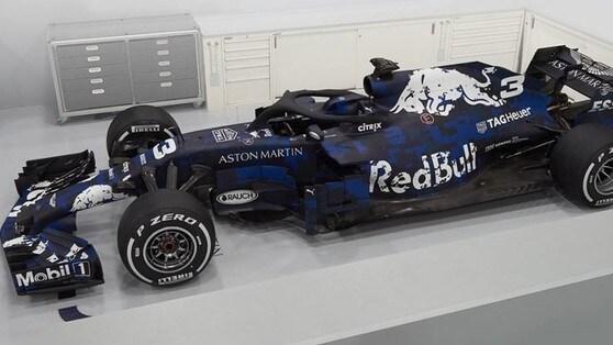 F1, ecco la nuova Red Bull in versione