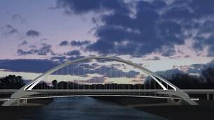 Stadio Roma, ecco come sarà il Ponte dei Congressi