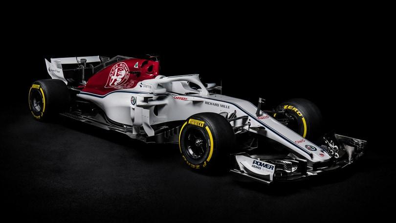 F1 Alfa-Sauber, svelata la nuova livrea della C37