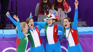 Short track, nella staffetta azzurre d'argento