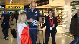 Fiumicino si tinge di azzurro per l'Italia del rugby