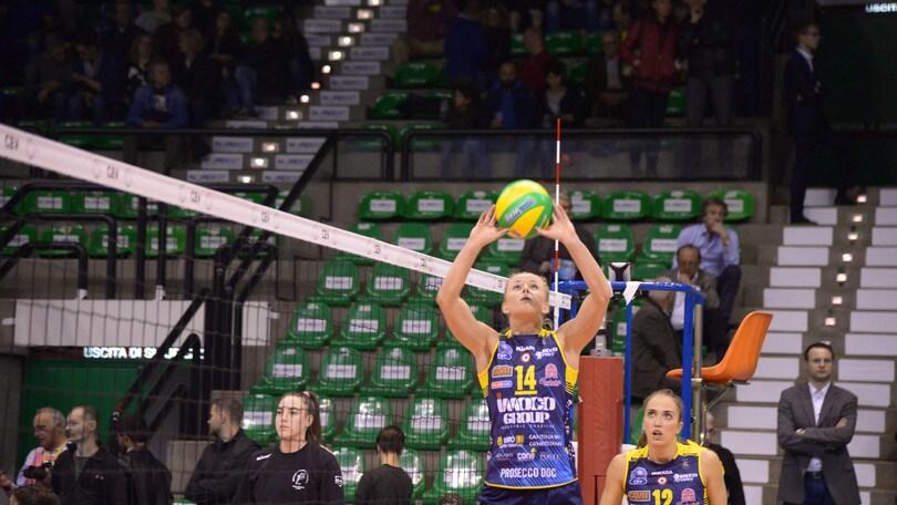 Volley: Champions League, Conegliano e Novara giocano per entrare nei Play Offs