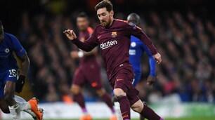 Barcellona, a Stamford Bridge segna Messi: è il suo primo gol al Chelsea